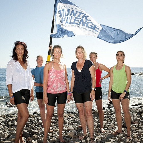 RowforFreedom is the first all female crew