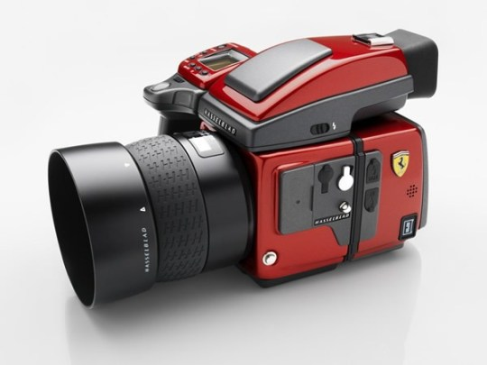 Hasselblad H4D Medium Format DSLR, Limited Edition Ferrari