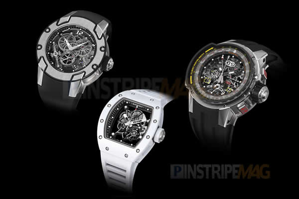 Richard Mille releases 3 new watches
