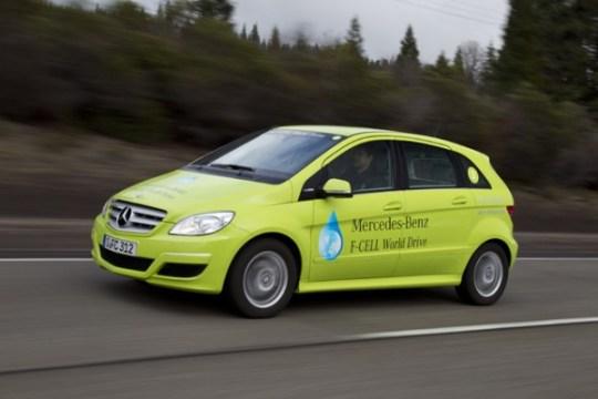 Mercedes-Benz,Hydrogen Fuel Cell Powered Car