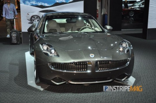 2012 Fisker Karma, NY International Car Show 2012