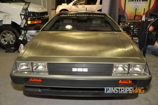 the NEW DeLorean DMC-EV, NY International Car Show 2012