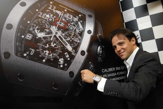 The Richard Mille, RM 011 Felipe Massa Flyback Chronograph, limited edition