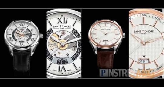Saint Honore The New Carrousel, a real gentlemans watch