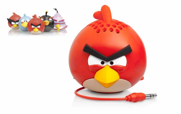 PM Holiday Gadget Gift Guide for Guys, Angry Birds Mini Rechargeable Mini Speaker