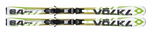Volkl RTM 84 Men's Skis with IPT 12 Bindings