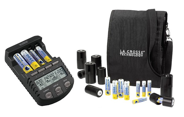 PM Holiday Gadget Gift Guide for Guys, BC-1000 Rechargeable battery charger by La Crosse Technology