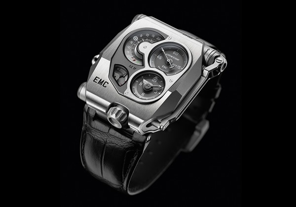 Urwerk EMC unveiled, the First Mechanical watch with AI