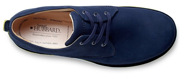 Samuel Hubbard Free Shoes in Navy Nubuck