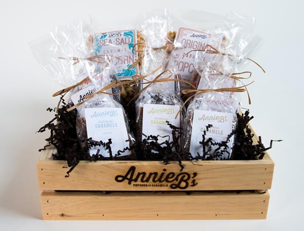 Annie B's Hancrafted Popcorn & Caramels