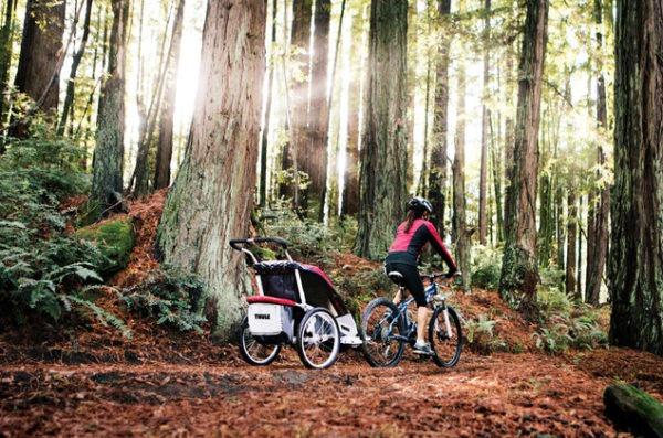 Thule biking stroller