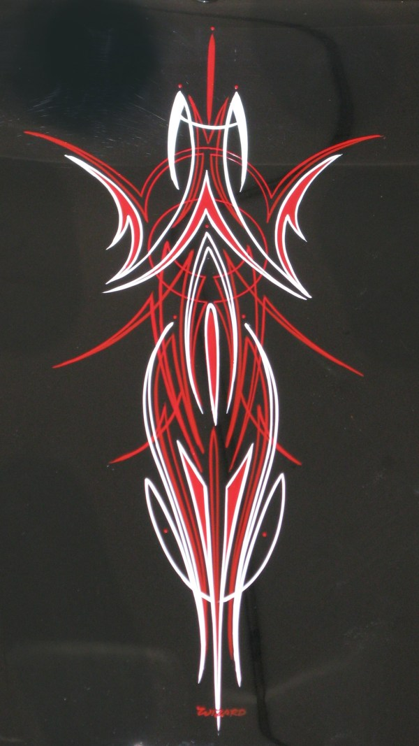 Pinstriping Steve Chaszeyka - & Airbrush