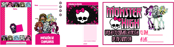 Invitaciones_Monster_High_1_PintandoUnaMama