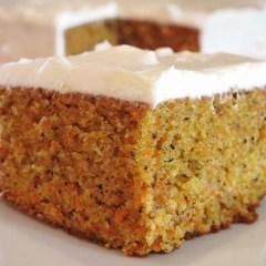 Pastel de Zanahoria y Canela: deliciosa versión del auténtico Carrot Cake