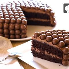 Tarta de Maltesers de Chocolate