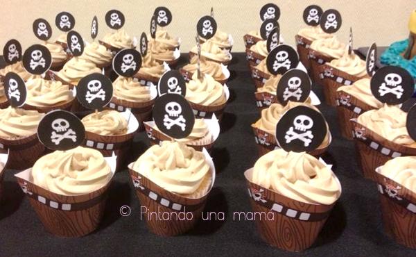 Fiesta_Pirata_Cupcakes_Wrappers_PintandoUnaMama