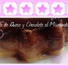 Tarta de Queso y Chocolate al Microondas