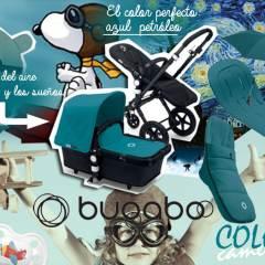 Moodboard Bugaboo Cameleon 3 Azul Petróleo