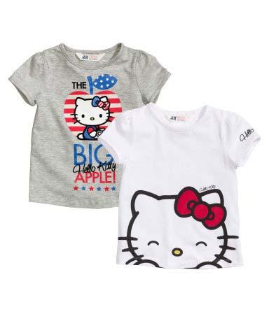 Camiseta_Kitty_H&M_PintandoUnaMama
