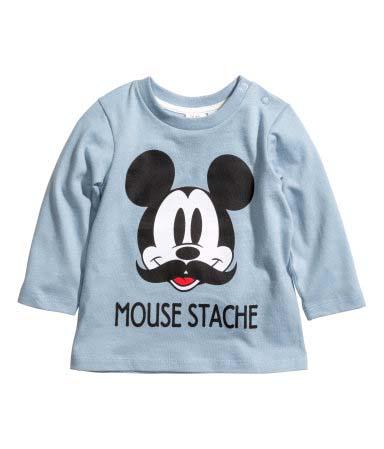 Camiseta_Mickey_Moustache_H&M_Kids_PintandoUnaMama