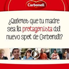 Tu madre protagonista del nuevo Spot de Carbonell