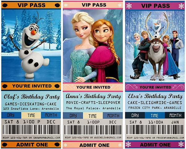 Invitacion_Frozen_PintandoUnaMama