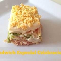 Sandwich o Pastel de Pan Especial Celebraciones