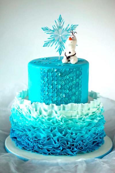 Tarta_Frozen_Ideas_PintandoUnaMama