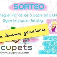 Ganadores del Sorteo con Cupets