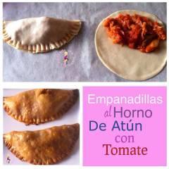 Empanadillas al Horno de Atún con Tomate