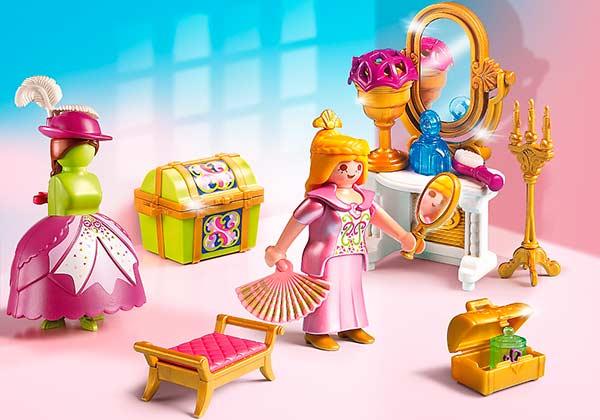 Playmobil_Princesas_Vestidor_Real_PintandoUnaMama