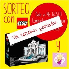 Ganador Sorteo Fontana de Trevi de LEGO