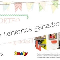 Ganadora Sorteo Friends House de Smoby