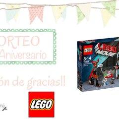 Sorteo Segundo Aniversario con Lego