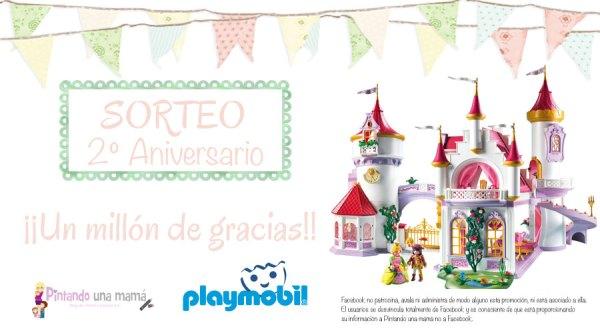Sorteo Gran Palacio de Princesas de Playmobil - Pintando una mamá ...