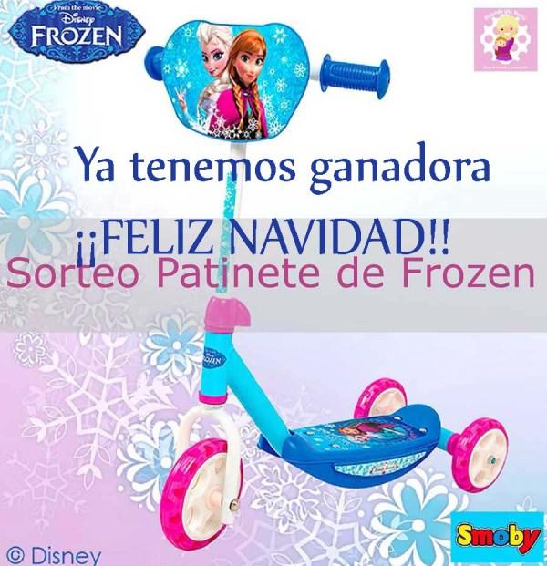 GANADORA_Navidad_Patinete_Frozen_Smoby