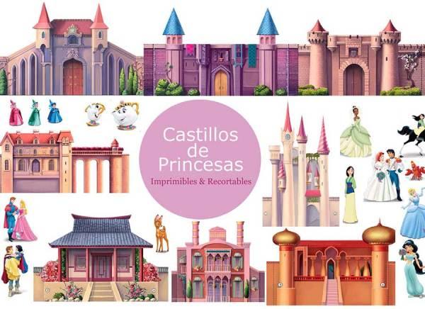 Castillos_de_Princesas_Imprimibles_y_recortables
