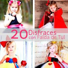 20 Disfraces con Falda de Tul