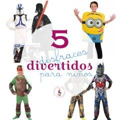 5 Disfraces de Personajes Divertidos para Niños