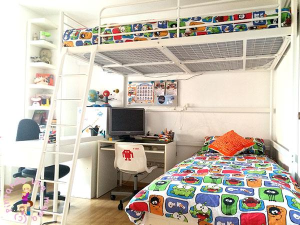 Habitación para Dos Niños