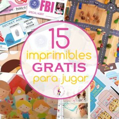 Imprimibles Gratis para Jugar