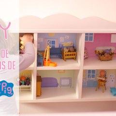 DIY Casa de Muñecas de Peppa Pig