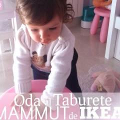Oda al Taburete MAMMUT de Ikea para Niños