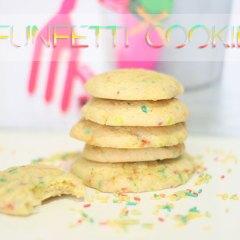 Galletas de Confeti de Colores o Funfetti Cookies