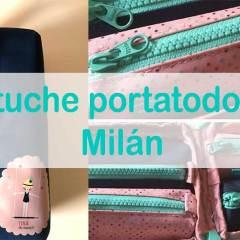 Estuche Escolar Portatodo de Milán
