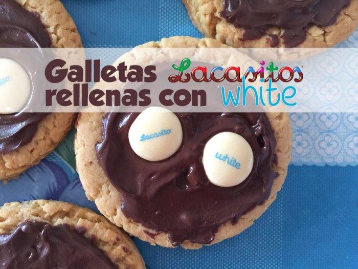 Galletas con Lacasitos de Chocolate Blanco