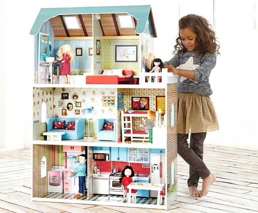 Casa de mu ecas de madera de imaginarium pintando una mam pintando una mam - Casa de munecas you and me ...