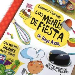 Libro de Recetas Los Menús de Fiesta de Baya Azul