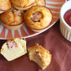 Muffins de Salchichas Ketchup Plops de Argal