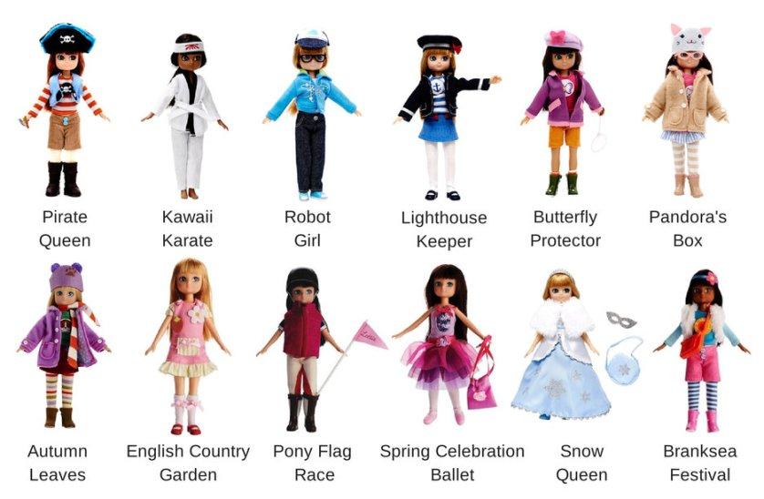 Muñecas Lottie